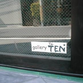 ギャラリーTENのロゴ