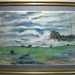 平沢貞通獄中画の一枚